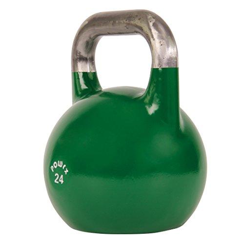 Kettlebell Haut Gamme Le Choix Des Pros halteres 24kg vert