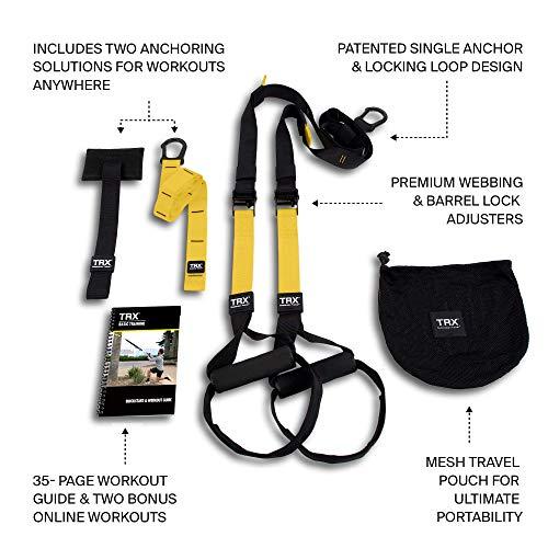 TRX Sangle de Suspension Pack Fitness