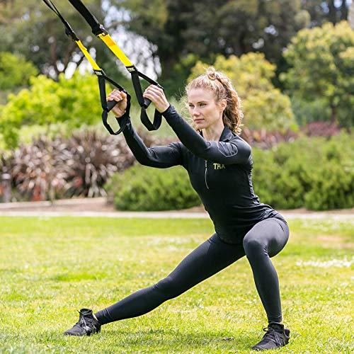TRX Sangle de Suspension Femme Sportive